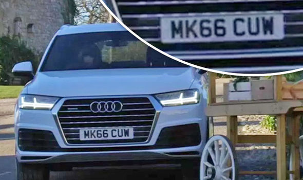 Emmerdale fans in UPROAR after cheeky prop number plate spells a naughty word