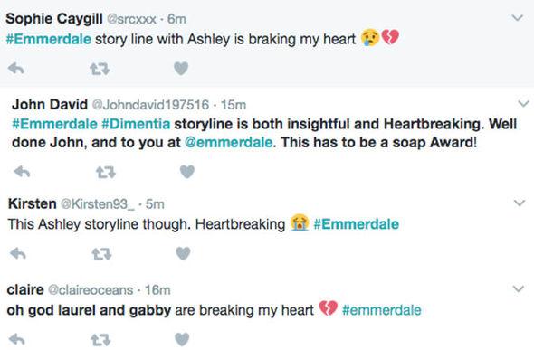 Emmerdale viewer tweets
