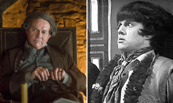 Frazer Hines in Outlander and as the companion in Doctor Who