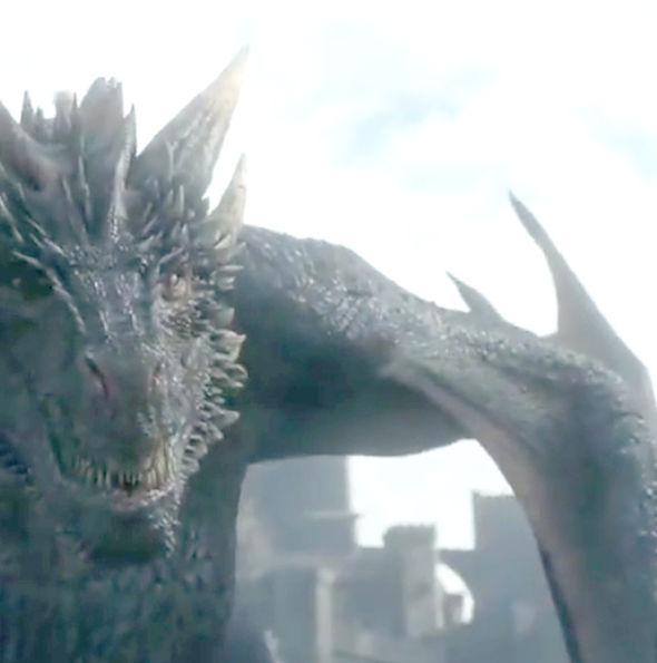 Jon Snow comes face-to-face with a dragon in Game of Thrones