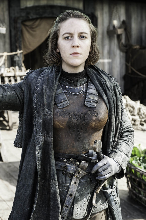 Gemma plays Yara Greyjoy in Game of Thrones