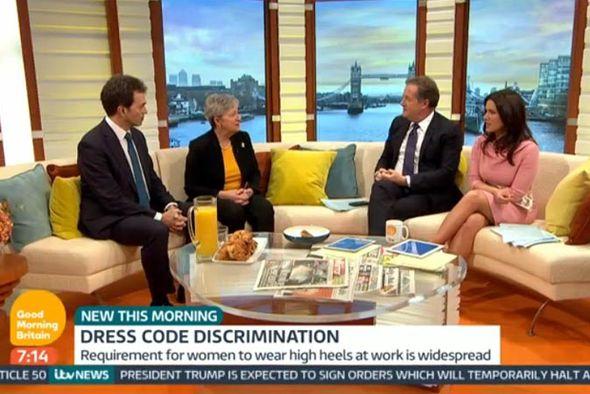 Tom Brake on Good Morning Britain