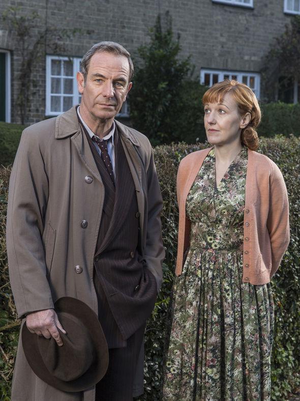 Robson Green as Geordie Keating in ITV drama Grantchester