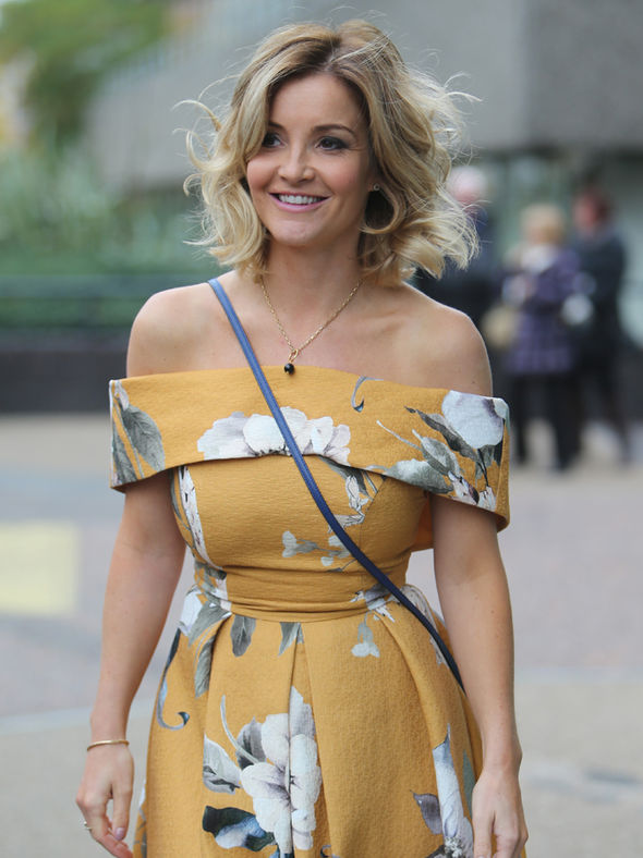 Helen Skelton guest presents Lorraine