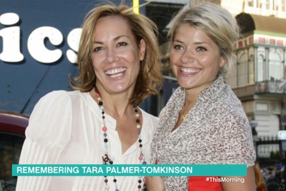 Holly Willoughby and Tara Palmer-Tomkinson
