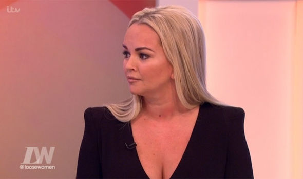 Jennifer Ellison made her first debut as a panelist on Loose Women