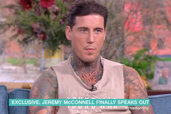 Jeremy McConnell on This Morning
