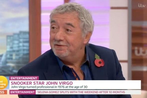 John Virgo on Good Morning Britain