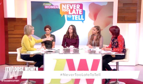 Katie Price opened up on Loose Women about the historic sexual abuse