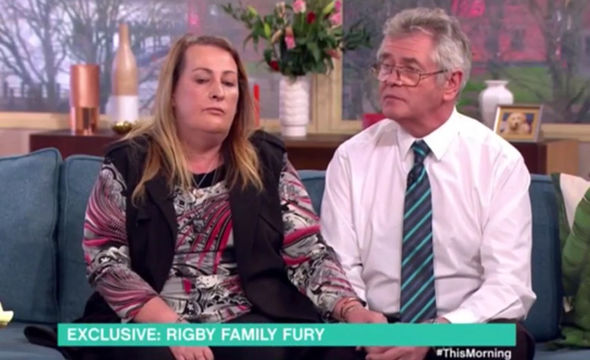 Lee Rigby's family