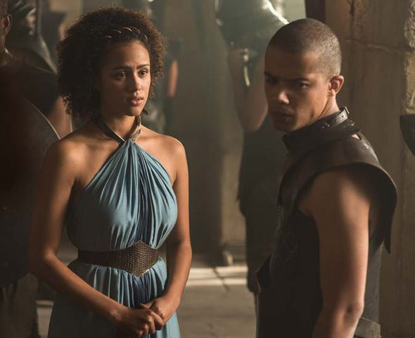 Missandei and Greyworm