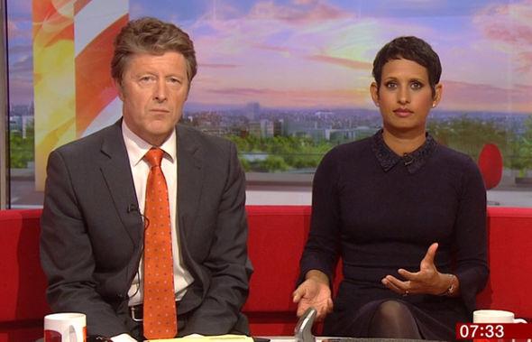 BBC News - Naga Munchetty speechless as Charlie Stayt ...