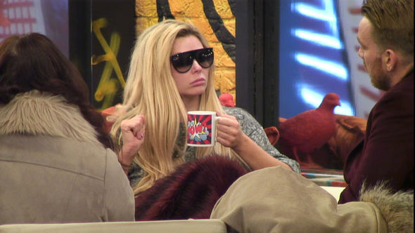 Nicola McLean Jamie O'Hara Celebrity Big Brother