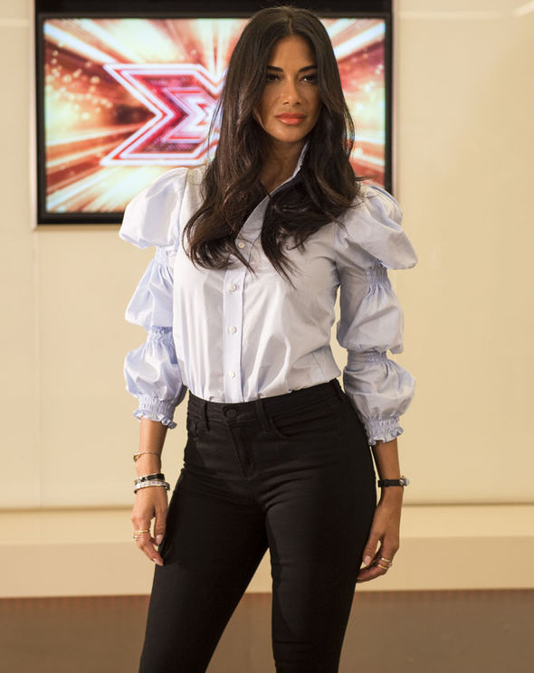 Nicole Scherzinger at The X Factor auditions