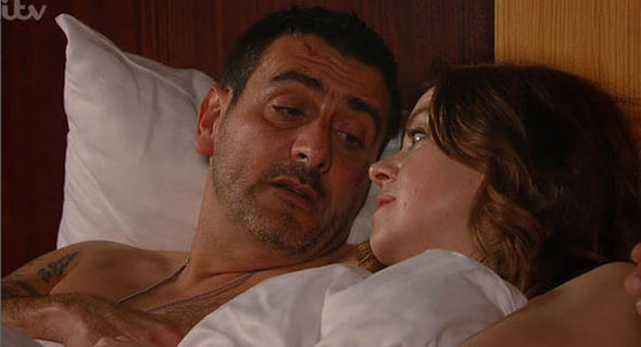 Peter Barlow and Toyah Battersby Coronation Street