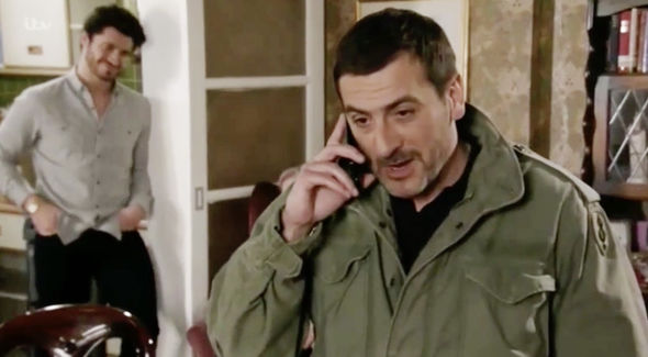 Peter Barlow appeared to make an x-rated comment