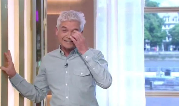 Phillip Schofield was left in hysterics on This Morning