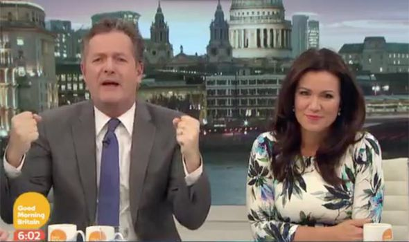 Piers Morgan has a rant on Good Morning Britain