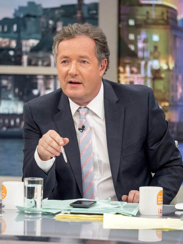 Good Morning Britain host Piers Morgan hit out at Jon Snow on Twitter