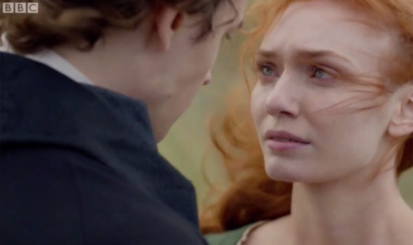 Demelza and Hugh Armitage appear to have a moment in the Poldark season 3 finale
