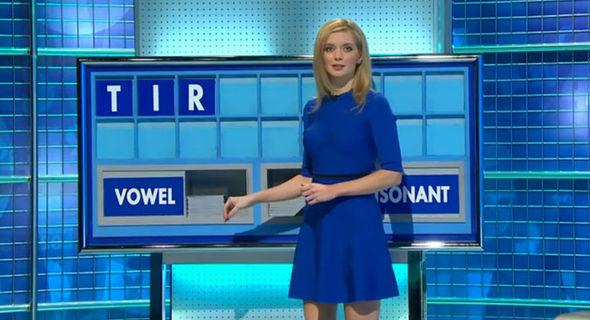 Rachel Riley Countdown outfit pregnant baby bump