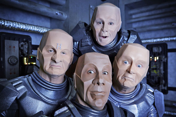 Red Dwarf XII starts on Dave this Autumn