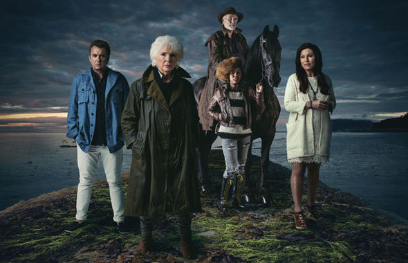 Redwater cast
