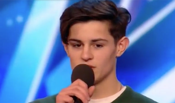Reuben Gray will be performing on Britain's Got Talent tonight