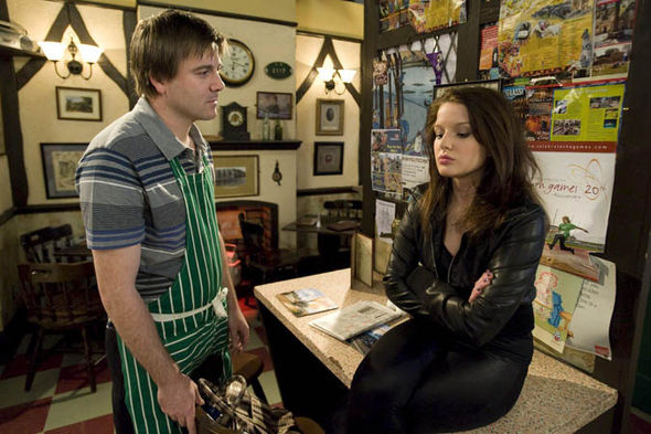 Rosie Webster and John Stape