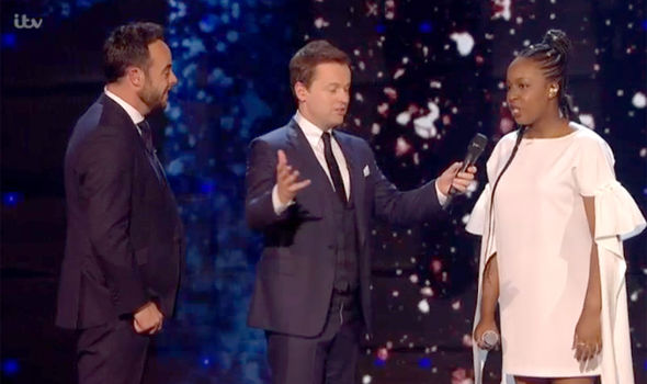 Sarah Ikumu impresses the Britain's Got Talent judges
