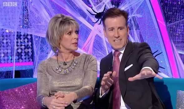 Ruth Langsford and Anton Du Beke discuss their Strictly Come Dancing routine