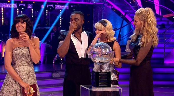 Strictly Come Dancing 2017 Debbie McGee final