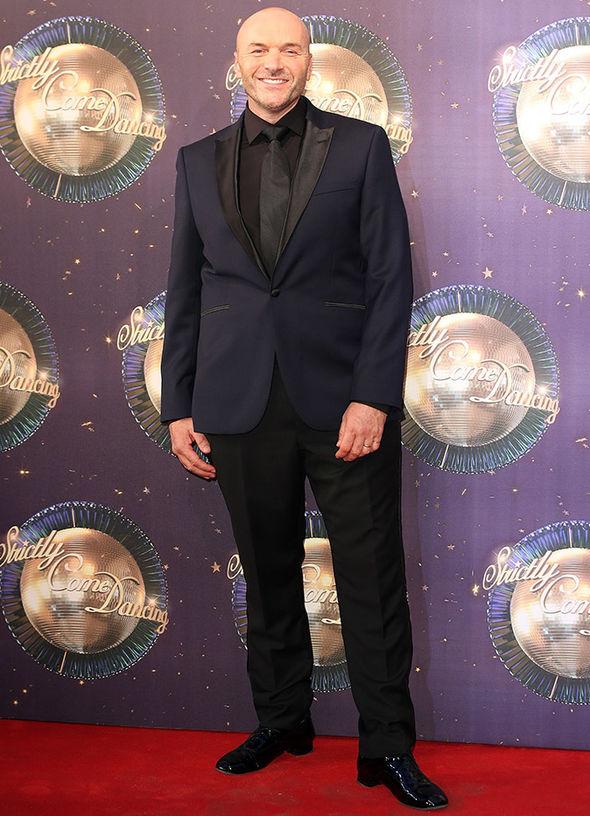 Strictly Come Dancing 2017 Simon Rimmer Sunday Brunch Karen Clifton exit Instagram