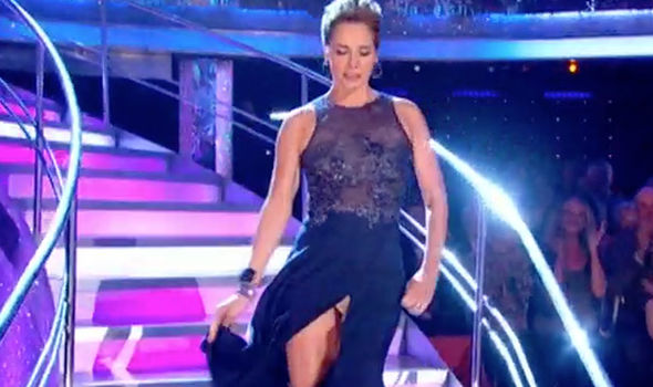 Strictly Come Dancing 2018 Darcey Bussell flashes knickers ...