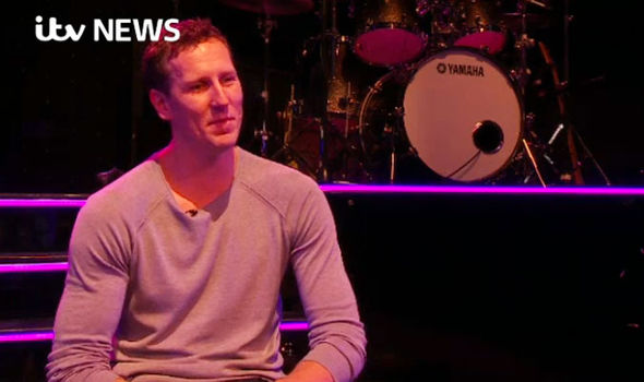 Brendan Cole speaking on ITV News
