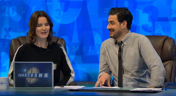 Susie Dent in Dictionary Corner