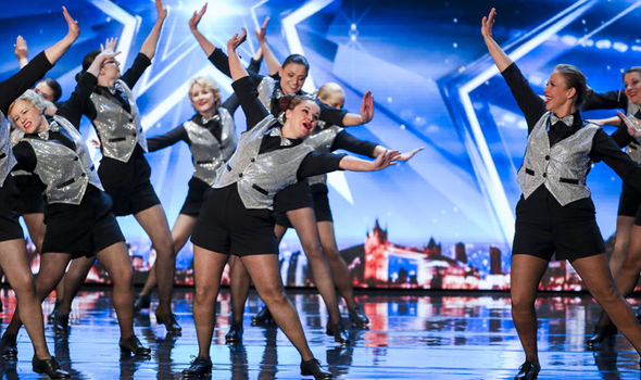 Britain's Got Talent dancers Taptastik