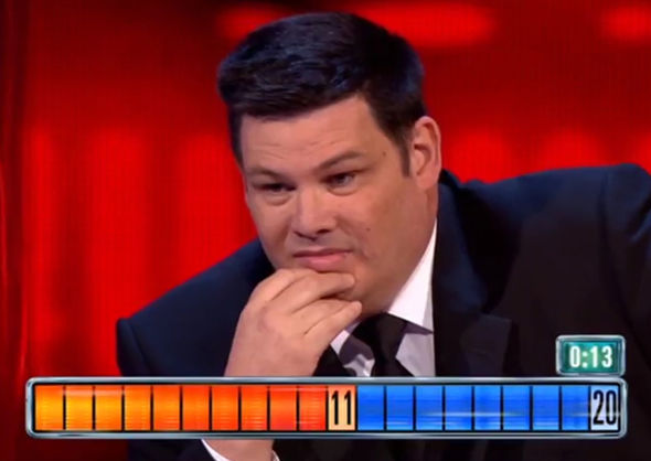 The Chase Beast Mark Labbett Donald Trump quiz ITV