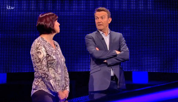 The Chase Bradley Walsh shocked as Mark Labbett tells Sam of his 'wide load'