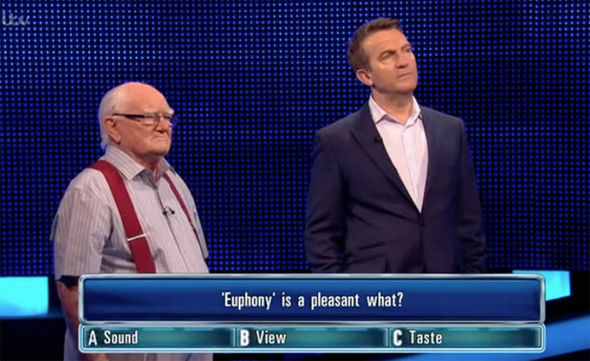 The Chase contestant John and Bradley Walsh