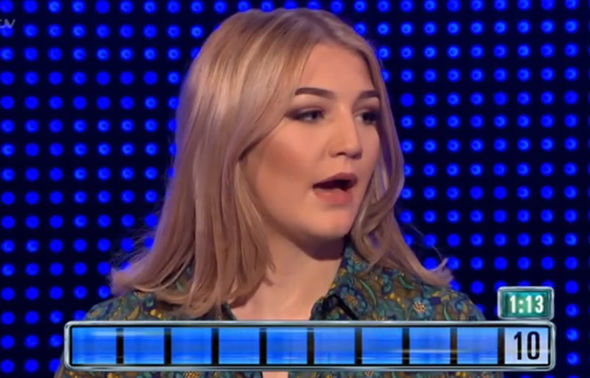 The Chase contestant Paiton