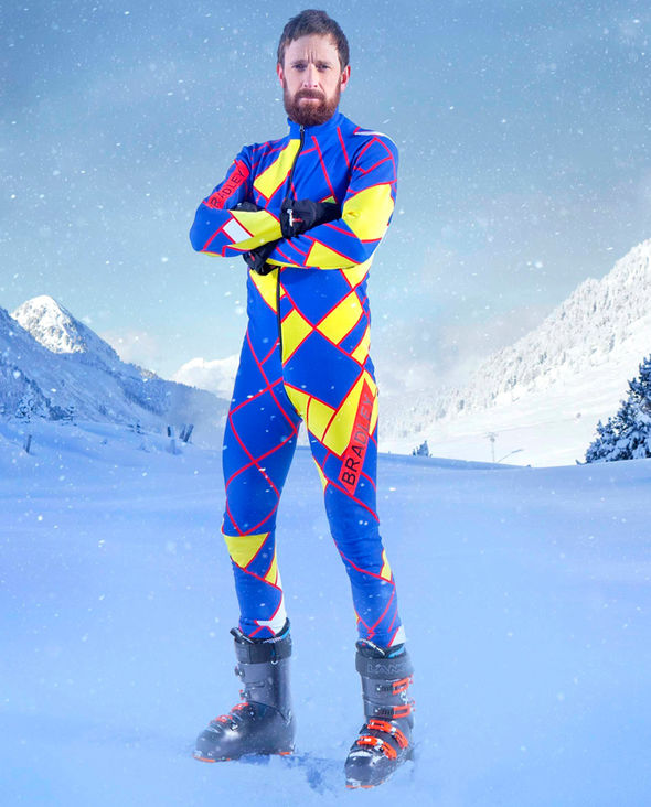 The Jump 2017 Sir Bradley Wiggins injury Instagram Channel 4
