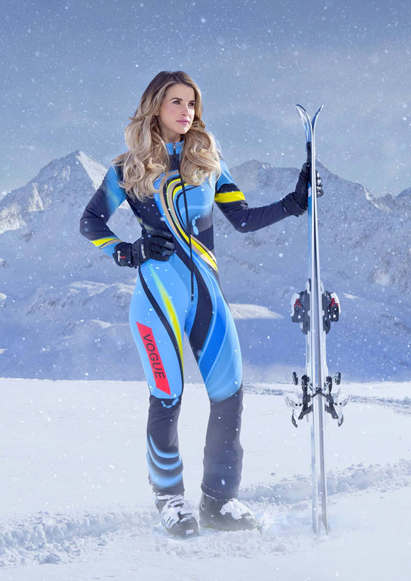 The Jump 2017 Vogue Williams was forced to pull out after suffering an injury