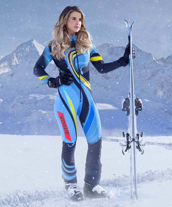 The Jump 2017: Vogue Williams