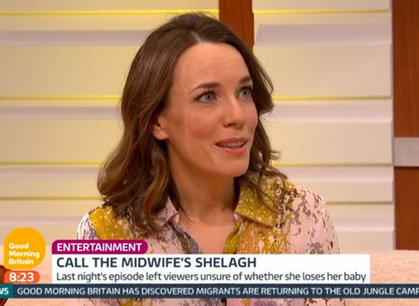 Laura Main on Good Morning Britain