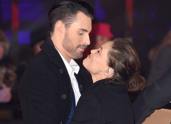 Rylan Clark and Emma Willis