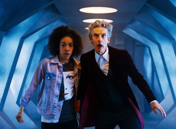 Bill and the Doctor in Doctor Who
