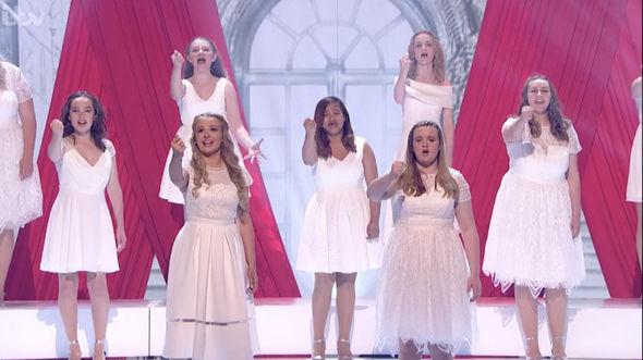 group put on a stunning performance