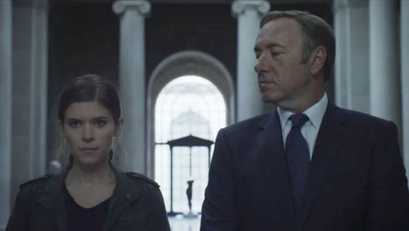House of Cards: Zoe and Frank