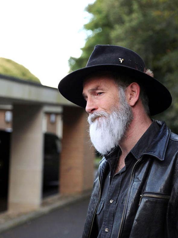 Terry Pratchett played by John Kaye